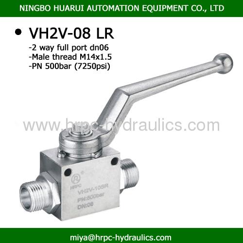 VH2V full port high pressure ball valves