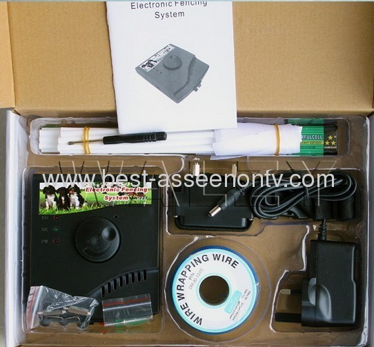 Smart in-ground Electronic dog fenceing systemW-227 for 1 dog
