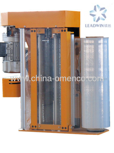 Automatic Pre-Stretch Pallet Wrapping Machine