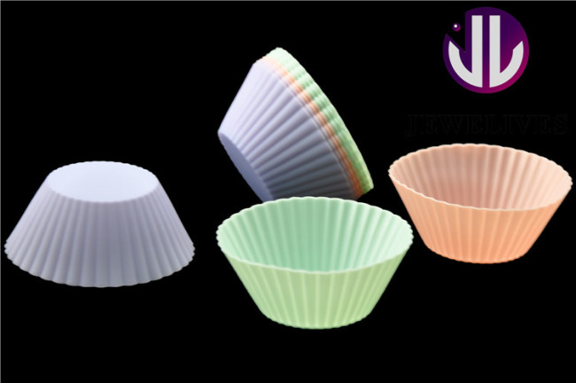 NEW! Muffin cake molds fashion Silicone Baking tools, Heat Resistant to 220