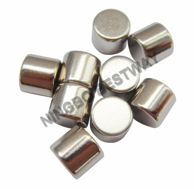 N45 D4 x4mm Cylinder Magnet