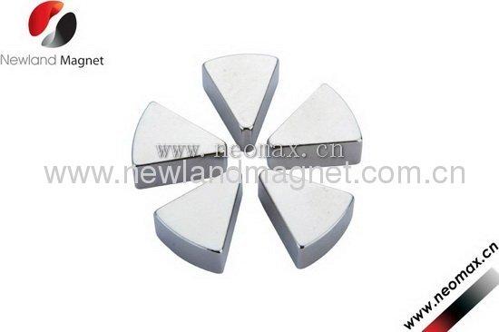Permanent NdFeB Magnet Trapezium