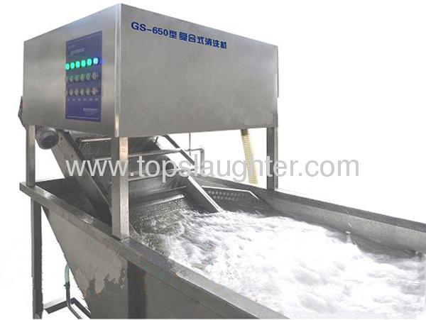 Chicken equipment automatic chicken meat washing machine