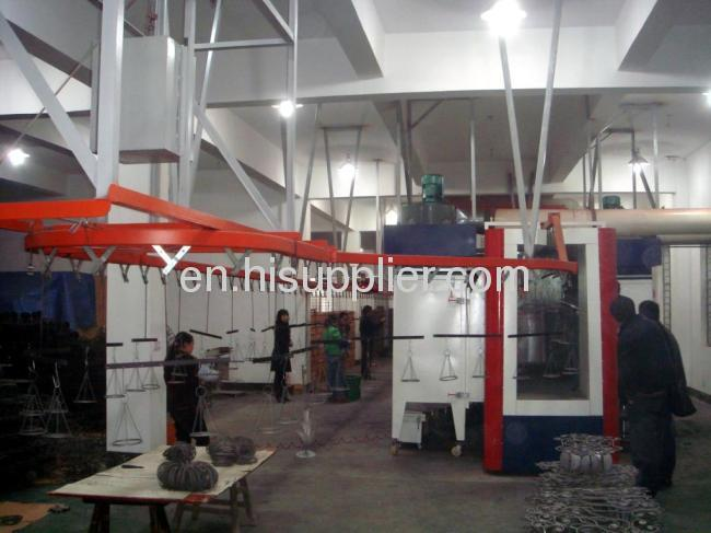 Industrial Condenser Electrophoresis Powder Coating Line
