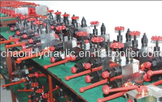 KHB3K/4K hydraulic ball valve