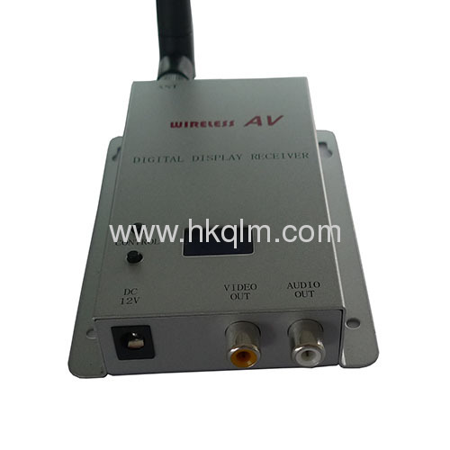 2.4 GHz 8 Channels 1500mW wireless cctv transmitter receiver