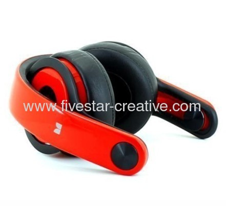Rotating Beats by Dr.Dre Mixr DJ Over-Ear Headphones Red