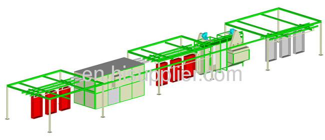 Aluminum Powder Coating system