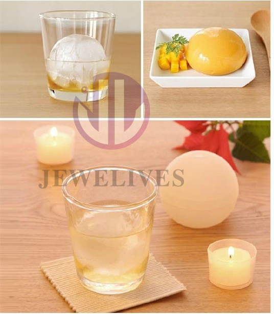 New! Modern Ice ball maker cover with water liner