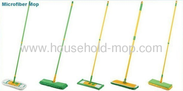 Star Mop Pro Household Microfiber Green Mop Kit with Two Microfiber Pads