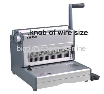 32 Sheet Punch Heavy Duty Electric Wire Binding Machine