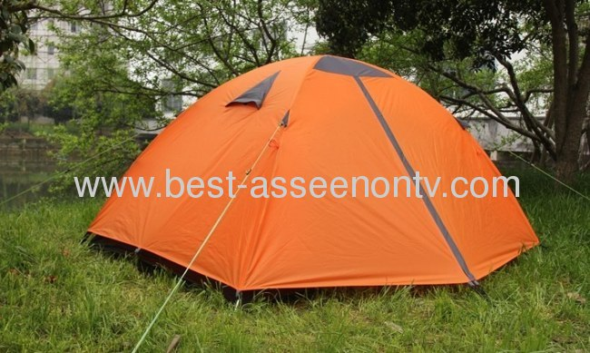 The disassemblability 2013 outdoor multifunctional fishing tent single quality aluminum car rod camping tent