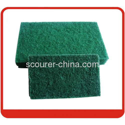 Super quality green scourer pad for long lasting