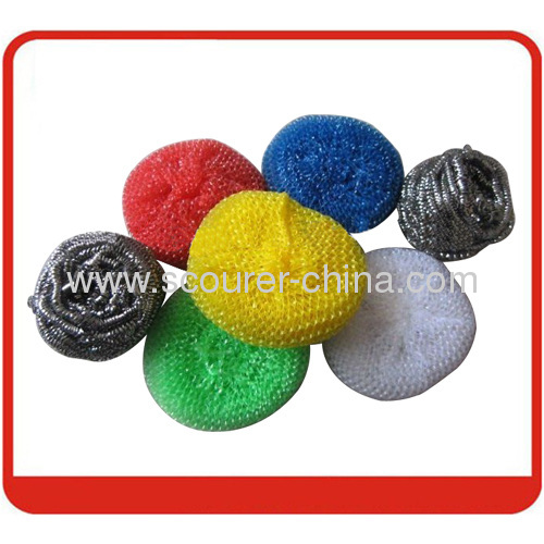 Strong Clean capacity Galvanized Mesh Scourer