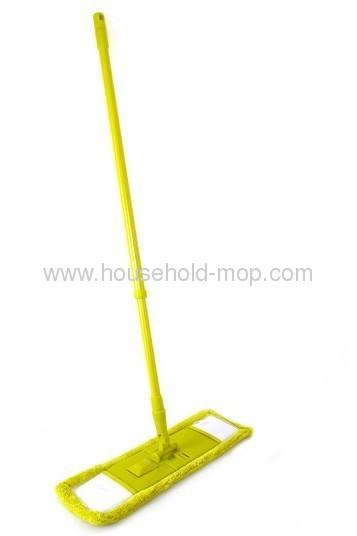 swivel head and telescopic handle mop