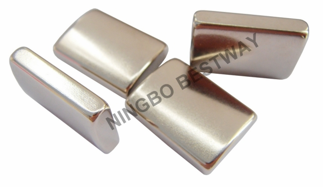 N35SH R31x18x25x6mm Rare Earth Arc Magnet