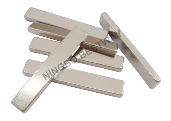 N42NiCuNi L42x7x3mm Block Neodymium Magnet