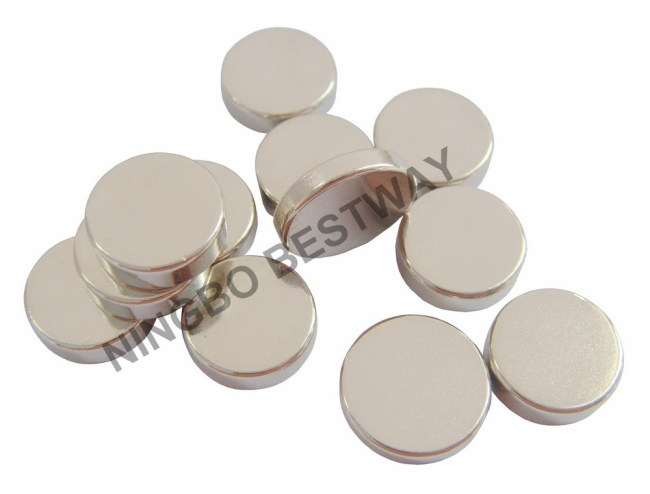 N35 NiCuNi coating D10x3mm Neodymium Disc Magnet