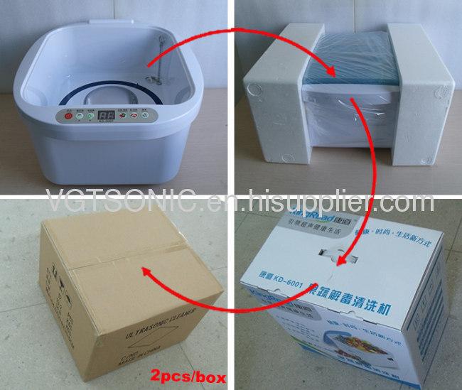 KD-6001 Ultrasonic and Ozone Vegetable & Fruit Sterilizer