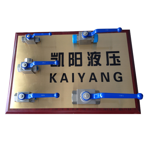 KHB BKH 2 way male thread high pressure ball valve