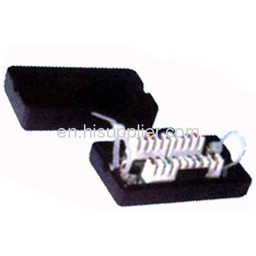 Cat.5e coupler connection box