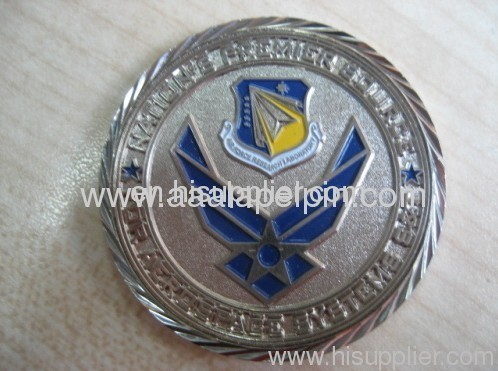 Soft Enamel Challenge Coin pin