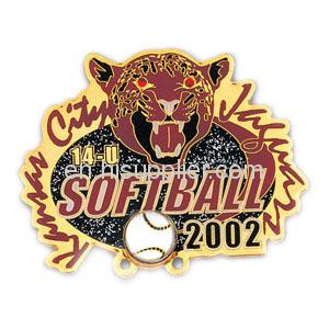 Печать логотипа бейсбол булавка