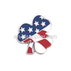 fashion hard enamel lapel pin badge