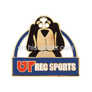 Imitation hard enamel lapel pins badges high quality