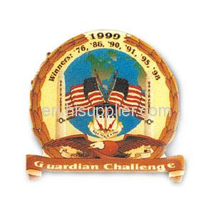 Custom 2013 metal lapel pin