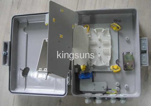Fiber splitter box