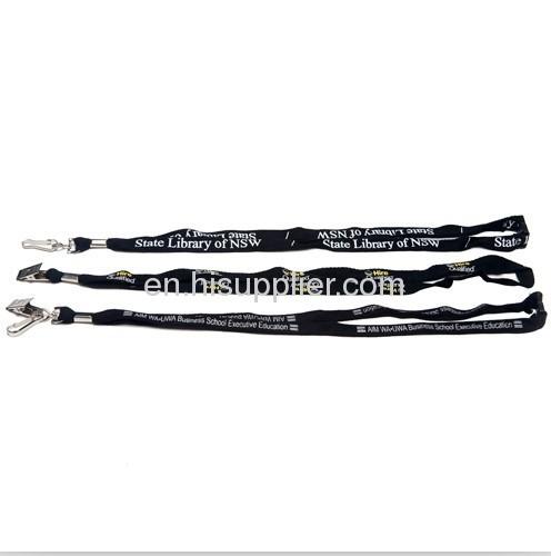 lanyard promotion/ polyester bootlace lanyards