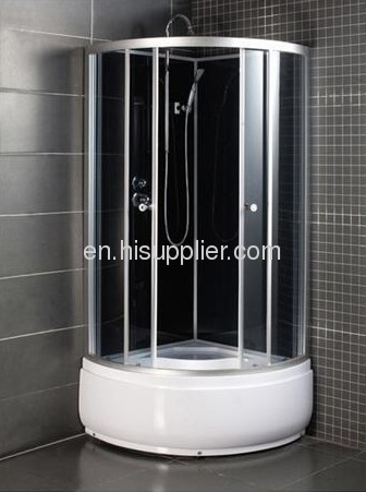 Matte silver aluminum alloy frame for shower room