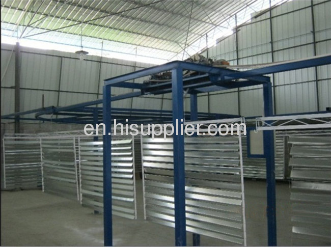aluminium profile production machine