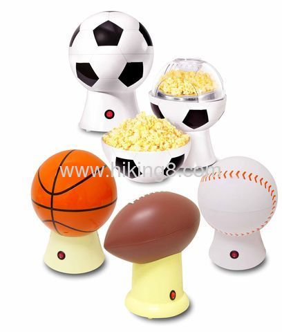 electric basketball air popcorn maker
