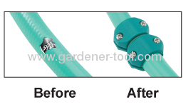Plastic Garden Hose Accessory Set For American Market.