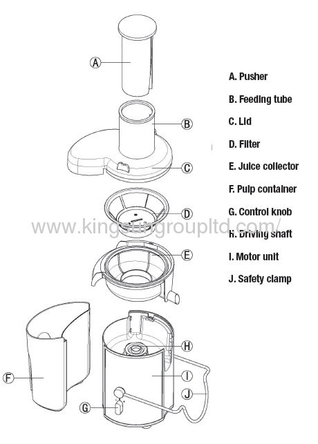 high quality juicer extractor