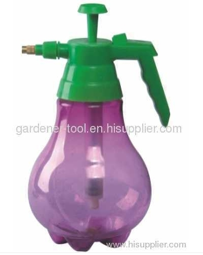 1500ML water trigger sprayer with transparent bottle and PP Trigger