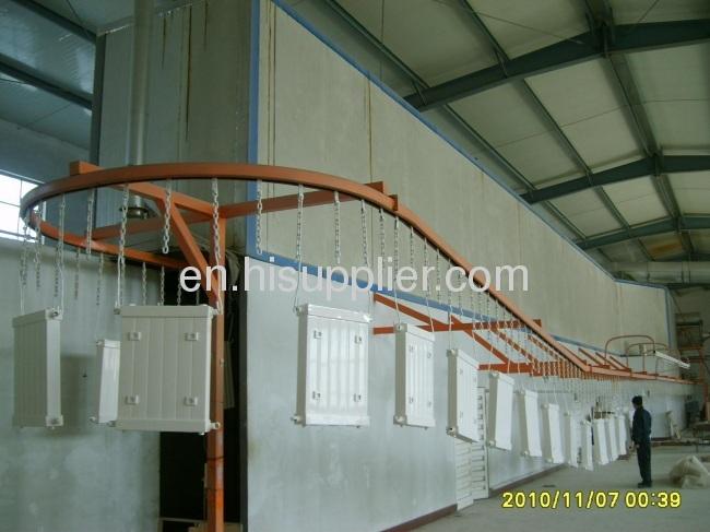 powder and free conveyor system