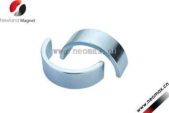 Small arc nedymium magnets