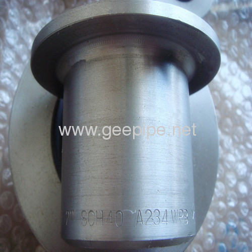 ANSI standard MSS SP-43butt welding stainless steel lap joint stub ends DN 80 3ASTM A 234 WPB
