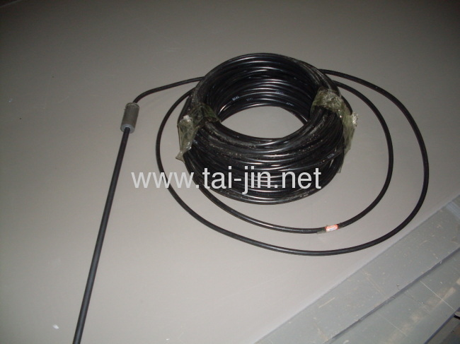 Titanium MMO canistered anode for protection of storage tanks