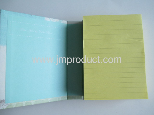 mini hardcover with sticky inner
