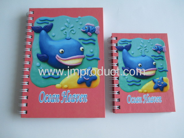 hardcover notebook with UV coating