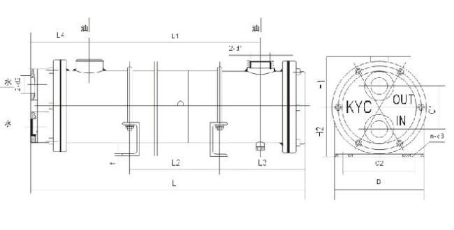 Heat Exchanger training water oil cooler