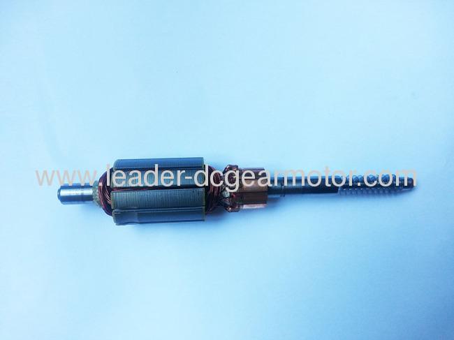 100% electric copper wire Dc motor armature