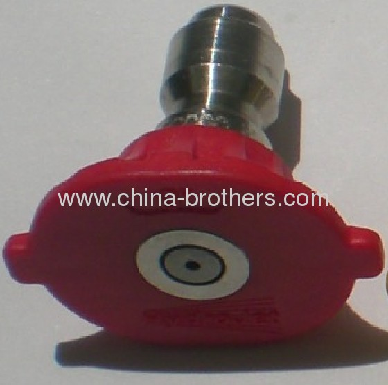 0 DEG 1/4 Hydrojet Quick Connet Spray Nozzle Orifice 2.0 - 10.0