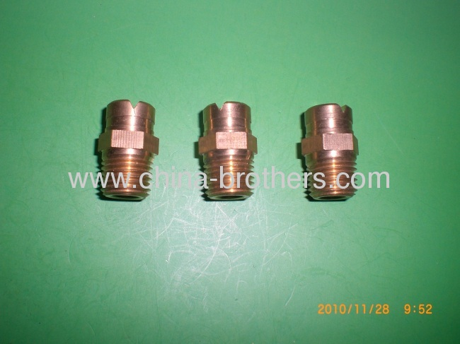1/4 Brass MEG Soap Nozzle Orifice Size 4.0