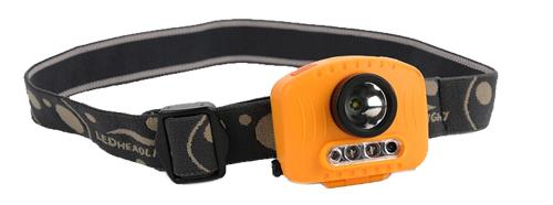 Multifunctional Head Lamp Flashlight Cree XPG LED with IR Sensor