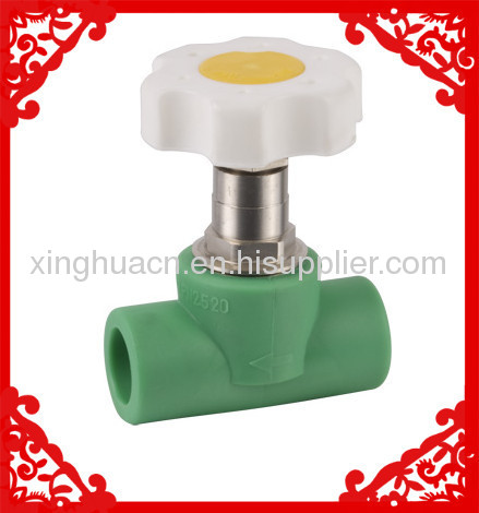 2013 hot sale PPR Heavy Stop Valve 20-32mm from China